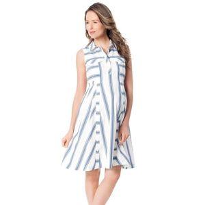Rebecca Minkoff Stripe Maternity Dress